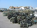 Lobster pots - Mudeford Quay - geograph.org.uk - 782282.jpg