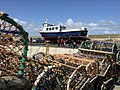 Lobster pots Seahouses - panoramio.jpg