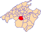 Location of Algaida