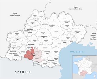 Arrondissement of Saint-Girons Arrondissement in Occitanie, France