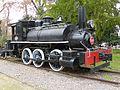 Locomotora de vapor construida por Rogers en 1893, del Museo Ferroviario de Santiago de Chile.JPG