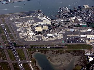 Logan International Airport Public airport in Boston, Massachusetts, United States