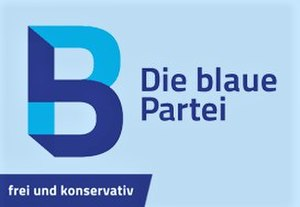 The Blue Party (Germany) - Image: Logo Die blaue Partei