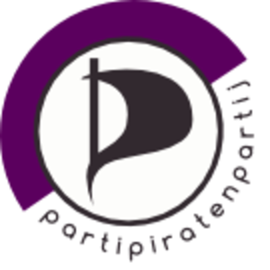 Pirate Party (Belgium) - Image: Logo partipiratenpartij 135px