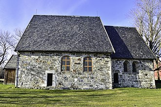 Logtun Church - Image: Logtun kirke i Frosta