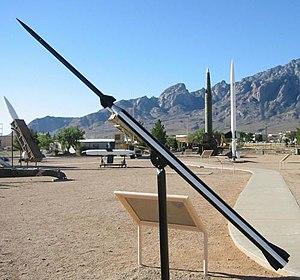 Dart (rocketry) - The sounding rocket Loki with dart