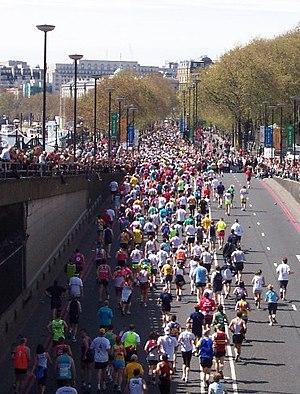 LOndon Marathon 2005