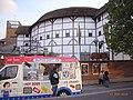 London Shakespeare Globe Theatre Eiswagen 201008.jpg