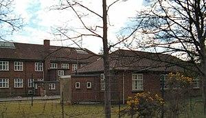 Bordon and Longmoor Military Camps - Modern brick barracks at Longmoor