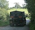 Lorry on Yellingmill Lane - geograph.org.uk - 1494615.jpg