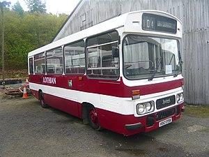 Leyland Cub - Preserved Lothian Regional Transport Duple Dominant bodied Cub CU435 in May 2010