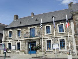 The town hall of Louvigné-de-Bais