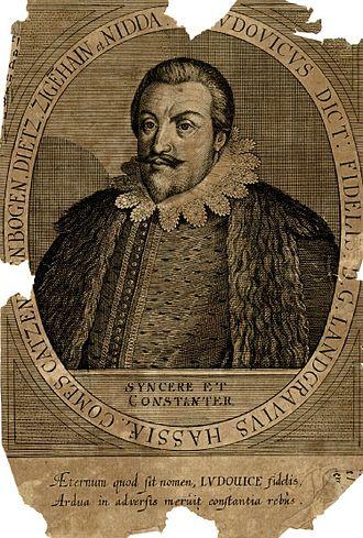 Hessian War - Louis V of Hesse-Darmstadt (died 1626)