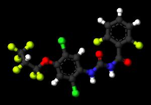 Lufenuron - Image: Lufenuron 3D balls