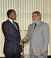 Lula and Denis Sassous Nguesso 2005-06-13 2.jpg