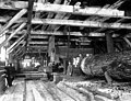 Lumber mill interior with circular saw, Snohomish County, ca 1913 (PICKETT 203).jpeg