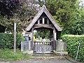 Lych Gate, St Andrews Church, Hasketon - geograph.org.uk - 1363409.jpg