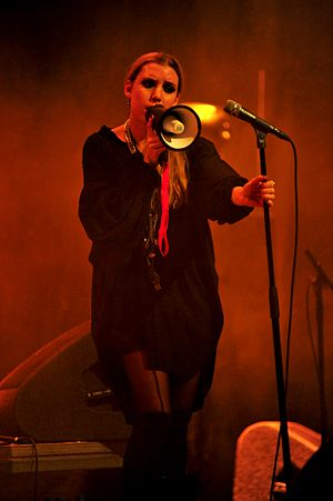 Lykke Li - Li performing at Paradiso in Amsterdam, December 2008