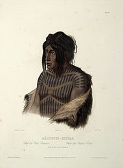 Mähsette Kuiuab, chief of the Cree indians