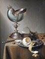 Målning. Stilleben med Nautiluspokal. Bolema de Stomme - Hallwylska museet - 86720.tif