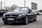 Münster, Beresa, Mercedes-Benz C-Klasse Cabrio -- 2018 -- 1721.jpg