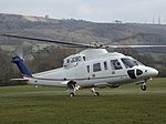 M-JCBC Sikorsky S-76 Helicopter JCB Ltd (25866921776).jpg