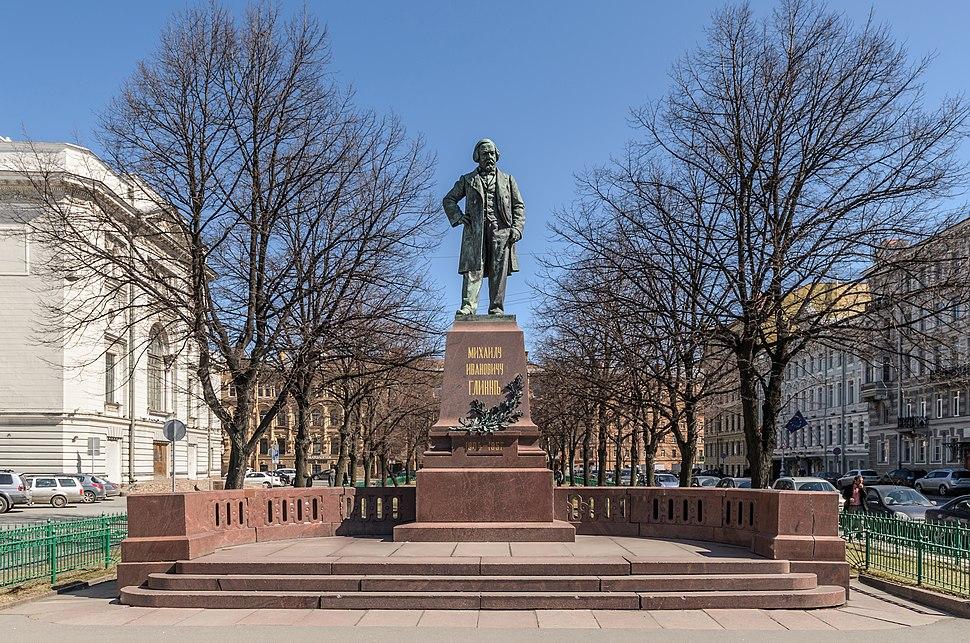 M.I. Glinka Monument SPB