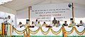 M. Venkaiah Naidu addressing at the foundation stone laying ceremony for the redevelopment of North Avenue quarters, in New Delhi.jpg