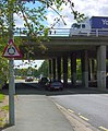 M3 bridge over B3411 Frimley Road - geograph.org.uk - 527478.jpg