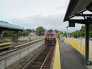 MBTA 2024 at Southborough station (1), September 2016.JPG