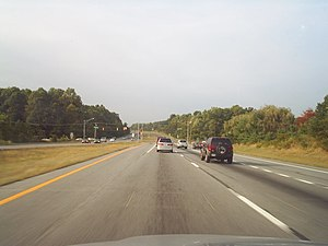 Maryland Route 24 - MD 24 northbound south of Bel Air