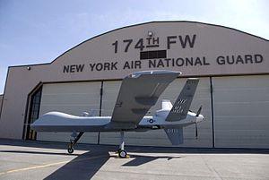 174th Attack Wing - General Atomics MQ-9A Reaper of the 138th Attack Squadron