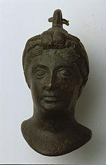 Poids de balance : tête de femme (25632)
