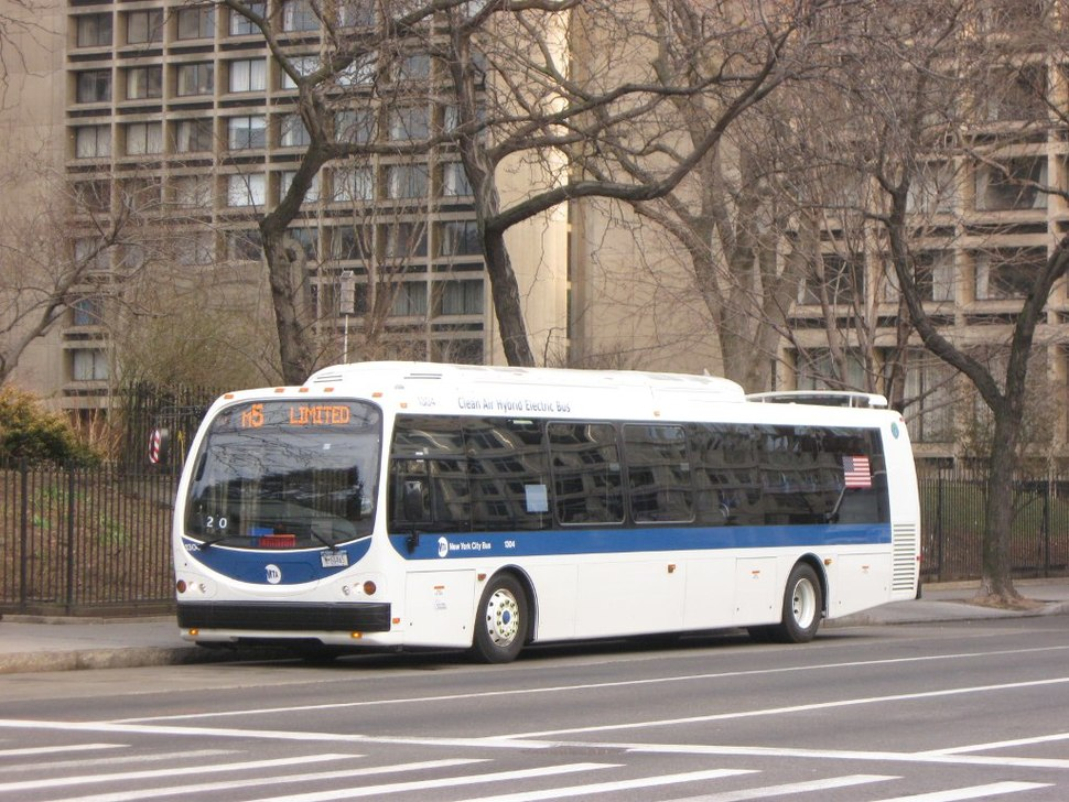 MTA New York City Bus DesignLine EcoSaver IV (2009)
