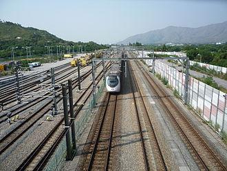 West Rail line - West Rail line Pat Heung Section