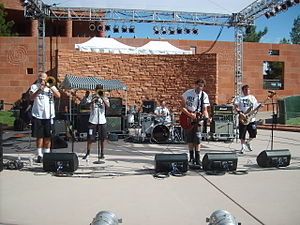 MU330 - MU330 performing live at the 2007 International Ska Circus in Clark County, Nevada.