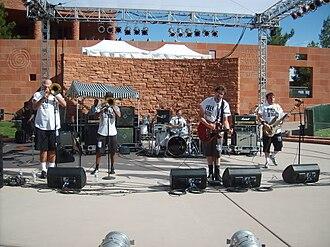 MU330 - MU330 performing live at the 2007 International Ska Circus in Clark County, Nevada.