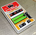 MVP Football by Galoob, Item No. 5004, Made in Japan, Copyright 1978 (LED Handheld Electronic Game).jpg