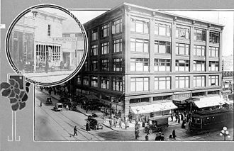 2nd and Pike - Image: Mac Dougall and Southwick Company store, Seattle, ca. 1916