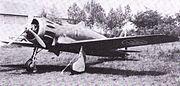 Macchi C.200 on ground