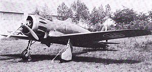 Macchi C.200 - A Macchi C.200 on the ground