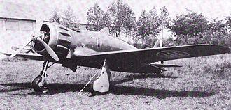 Macchi C.200 - A Macchi C.200 on the ground
