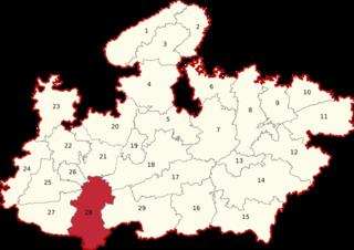 Khandwa (Lok Sabha constituency) Lok Sabha Constituency in Madhya Pradesh, India