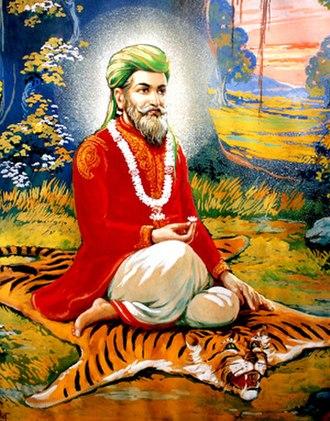 Manik Prabhu - a painting of Manik Prabhu