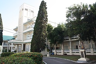 Saint Mary's College, Trinidad and Tobago - Image: Main Building, St. Mary's College, Port of Spain, Trinidad & Tobago