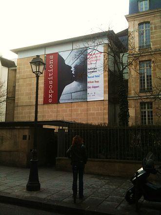 Maison européenne de la photographie - Image: Maison Européenne de la Photographie (Paris), façade 2