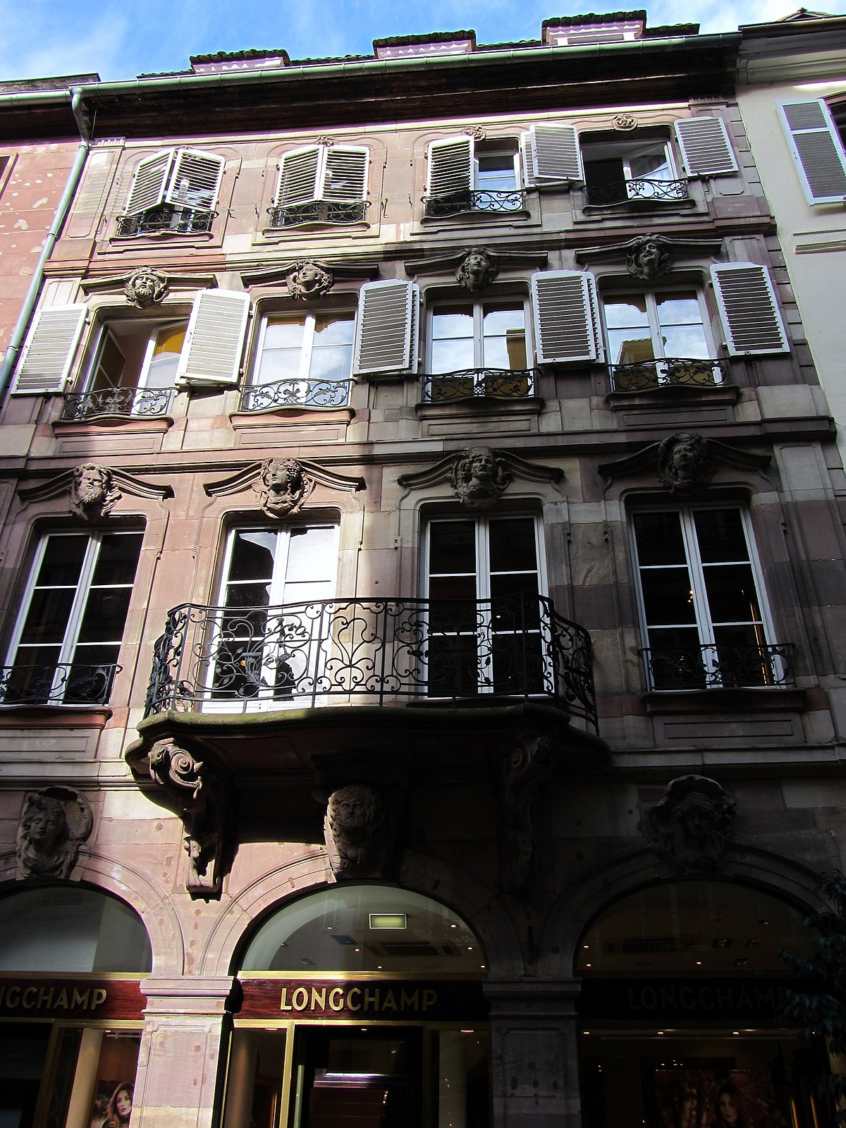 Maison sar wikip dia for Rue du miroir strasbourg