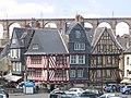 Maisons médiévales à Morlaix.JPG