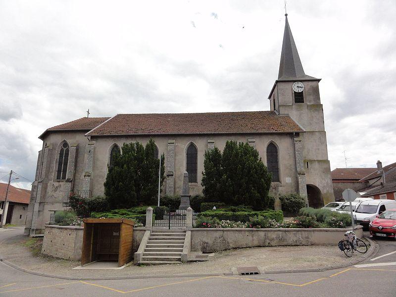 Maixe (M et M) église
