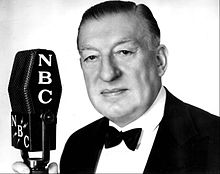Major Bowes as his Amateur Hour became a national radio program in 1935